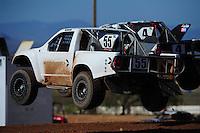 Apr 16, 2011; Surprise, AZ USA; LOORRS driver Matt Cook (55) during round 3 at Speedworld Off Road Park. Mandatory Credit: Mark J. Rebilas-.