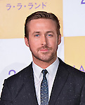 """Actor Ryan Gosling attends the Japan premiere for his film """"La La Land"""" at Roppongi Hills on January 26, 2017 in Tokyo, Japan. (Photo by AFLO)"""