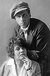 Vsevolod Meyerhold and Zinaida Raih. 1923 / Всеволод Мейерхольд и Зинаида Райх, 1923