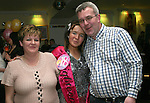 Melissa Campbell with her parents, Mary and Donal at her 18th in Corrigans...Photo NEWSFILE/Jenny Matthews.(Photo credit should read Jenny Matthews/NEWSFILE)....This Picture has been sent you under the condtions enclosed by:.Newsfile Ltd..The Studio,.Millmount Abbey,.Drogheda,.Co Meath..Ireland..Tel: +353(0)41-9871240.Fax: +353(0)41-9871260.GSM: +353(0)86-2500958.email: pictures@newsfile.ie.www.newsfile.ie.FTP: 193.120.102.198.
