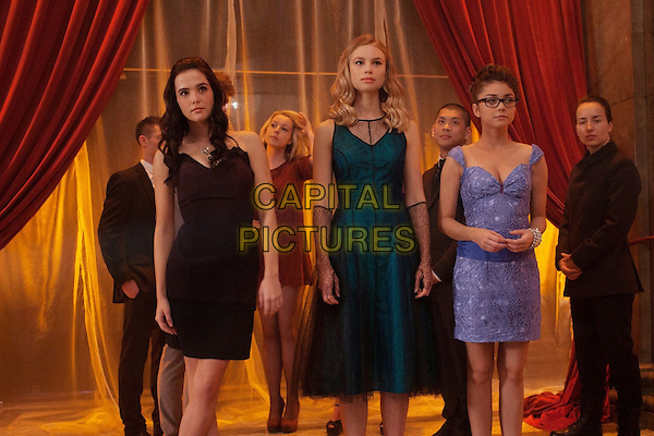 ZOEY DEUTCH, LUCY FRY, SARAH HYLAND<br /> in Vampire Academy (2014)<br /> *Filmstill - Editorial Use Only*<br /> CAP/FB<br /> Image supplied by Capital Pictures