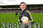 Daithi Casey at the Kerry Senior Football Team Media day at Fitzgerald Stadium on Saturday.
