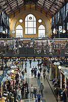 Central Europe, Hungary, Budapest 2007/04: Great Market Hall