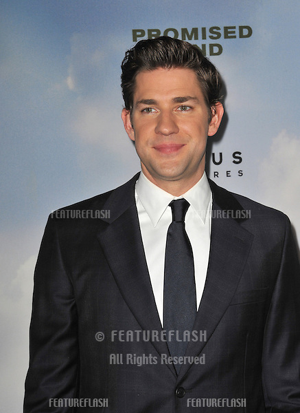 """John Krasinski at the Los Angeles premiere of his new movie """"Promised Land"""" at the Directors Guild Theatre..December 6, 2012  Los Angeles, CA.Picture: Paul Smith / Featureflash"""