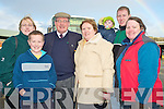Jim Morris, Pinewood Estate, Killarney, pictured with his family Sinead, Aaron and Sheila Morris, Setanta Cronin, Jim Morris and Mary Cronin after he retired from Bus E?ireann on Friday after 43 years service.
