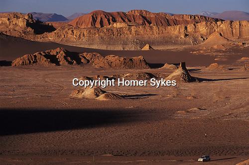 Tourism private tour charter four wheel drive Atacama Desert Chile
