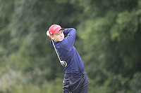 Ben Hanratty (Donabate) during the Connacht U14 Boys Amateur Open, Ballinasloe Golf Club, Ballinasloe, Galway,  Ireland. 10/07/2019<br /> Picture: Golffile | Fran Caffrey<br /> <br /> <br /> All photo usage must carry mandatory copyright credit (© Golffile | Fran Caffrey)