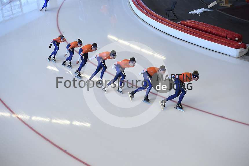 SPEEDSKATING: INZELL: Max Aicher Arena, 06-02-2019, ISU World Single Distances Speed Skating Championships, training, ©photo Martin de Jong