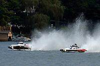 """John Shaw, E-54 """"White Trash"""", Kent Henderson, H-777 """"Steeler""""    (H350 Hydro) (5 Litre class hydroplane(s)"""