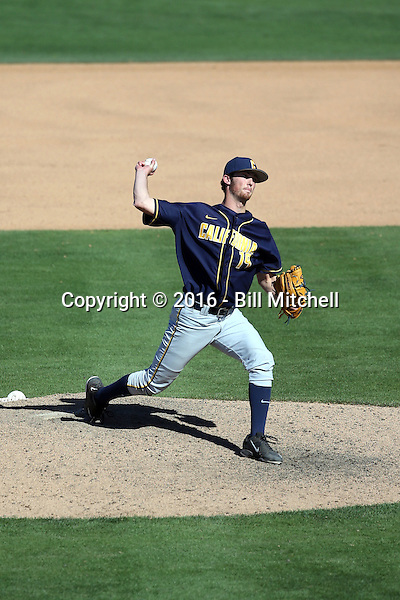 Tanner Dodson - 2016 California Golden Bears (Bill Mitchell)