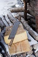 Europe/France/73/Savoie/Val d'Isère:L'Avalin , fromage bio, à pate pressée cuite, cousin du beaufort  créeé et  produit par la Ferme de l'Adroit