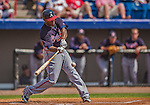 11 March 2013: Atlanta Braves outfielder Justin Upton in action during a Spring Training game against the Washington Nationals at Space Coast Stadium in Viera, Florida. The Braves defeated the Nationals 7-2 in Grapefruit League play. Mandatory Credit: Ed Wolfstein Photo *** RAW (NEF) Image File Available ***
