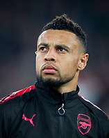 Francis Coquelin of Arsenal ahead of the UEFA Europa League group stage match between Arsenal and FC Red Star Belgrade at the Emirates Stadium, London, England on 2 November 2017. Photo by PRiME Media Images.
