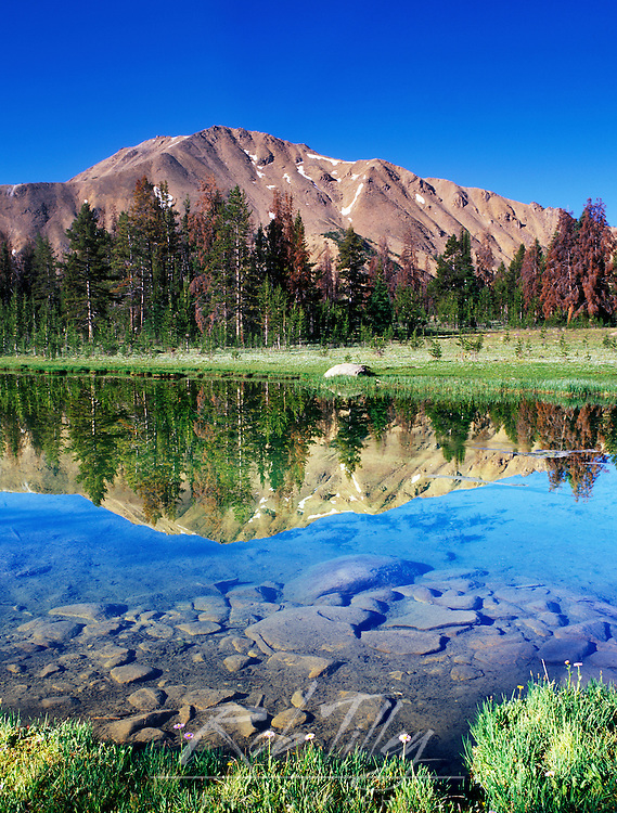 Fourth of July Lake, Sawtooth NRA, Idaho, USA