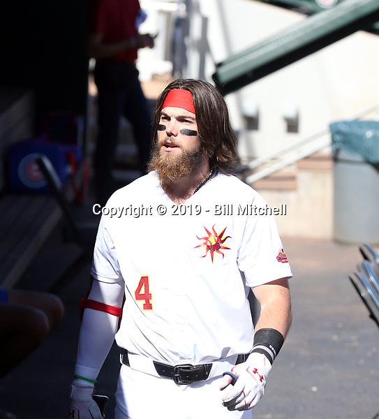 Brandon Marsh - Mesa Solar Sox - 2019 Arizona Fall League (Bill Mitchell)