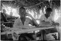 Campada college on the northern frontline, Guinea-Bissau - Summer 1973