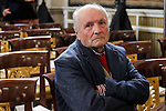 Antonio Lopez attends to the closing of the commemoration of the IV centenary of the death of Miguel de Cervantes at Royal Palace in Madrid, Spain. January 30, 2017. (ALTERPHOTOS/BorjaB.Hojas)