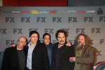Sons of Anarchy cast pose on the red carpet at FX 2012 Ad Sales Upfront held on March 29, 2012 at Lucky Stirke, New York, New York. (Photo by Sue Coflin/Max Photos)