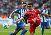 Alexander Esswein, Marcin Kaminski /   / general viel, Spielszene  /      <br /> / Sport / Football Football / DFL 1. Bundesliga Bundesliga  /  2017/2018 / 19.08.2017 / Hertha BSC Berlin vs. VfB Stuttgart 170819007 /  *** Local Caption *** © pixathlon<br /> Contact: +49-40-22 63 02 60 , info@pixathlon.de