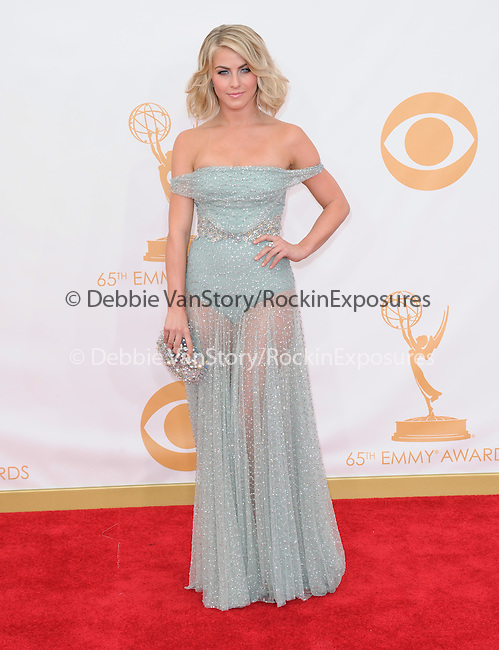 Julianne Hough attends 65th Annual Primetime Emmy Awards - Arrivals held at The Nokia Theatre L.A. Live in Los Angeles, California on September 22,2012                                                                               © 2013 DVS / Hollywood Press Agency