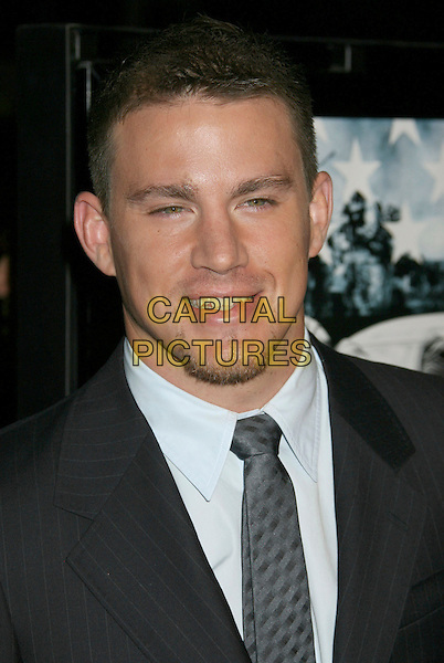 "CHANNING TATUM.""Stop-Loss"" Los Angeles Premiere held at the Directors Guild of America Theater, Los Angeles, California, USA,.17 March 2008..portrait headshot.CAP/ADM/RE.©Russ Elliot/Admedia/Capital PIctures"