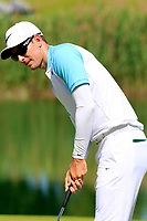Dylan Frittelli (RSA)  in action on the 18th hole during the final round of the Lyoness Open powered by Organic+ played at Diamond Country Club, Atzenbrugg, Austria. 8-11 June 2017.<br /> 11/06/2017.<br /> Picture: Golffile | Phil Inglis<br /> <br /> <br /> All photo usage must carry mandatory copyright credit (&copy; Golffile | Phil Inglis)