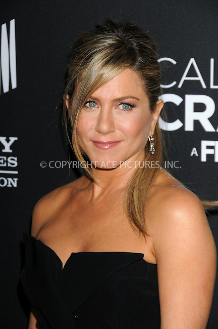 WWW.ACEPIXS.COM....US Sales Only....April 16 2013, LA....Jennifer Aniston arriving at the World Premiere Of The Lifetime Original Movie Event 'Call Me Crazy: A Five Film' at Pacific Design Center on April 16, 2013 in West Hollywood, California.....By Line: Famous/ACE Pictures......ACE Pictures, Inc...tel: 646 769 0430..Email: info@acepixs.com..www.acepixs.com