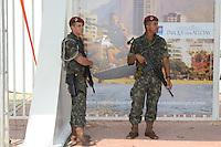 RIO DE JANEIRO-14/06/2012-Parque dos Atletas, uma das instalacoes do evento RIO + 20, na Barra da Tijuca, zona oeste do Rio.Foto:Marcelo Fonseca-Brazil Photo Press