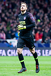 Atletico de Madrid Jan Oblak during group stage of UEFA Champions League match between Atletico de Madrid and Borussia Dortmund at Wanda Metropolitano in Madrid, Spain.November 06, 2018. (ALTERPHOTOS/Borja B.Hojas)