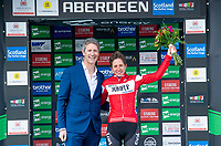 Picture by Allan McKenzie/SWpix.com - 17/05/2018 - Cycling - OVO Energy Tour Series Womens Race - Round 2:Aberdeen - Nicola Juniper takes her first career Tour Series win at Aberdeen.