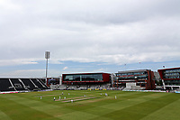 General view of play during Lancashire CCC vs Essex CCC, Specsavers County Championship Division 1 Cricket at Emirates Old Trafford on 9th June 2018