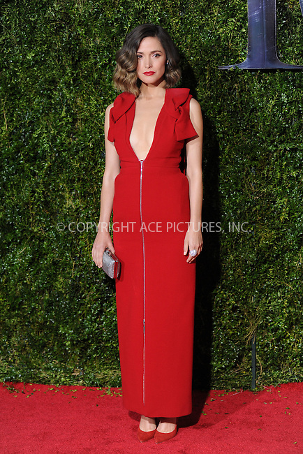 WWW.ACEPIXS.COM<br /> <br /> June 7 2015, New York City<br /> <br /> Rose Bryne arriving at the 2015 Tony Awards at Radio City Music Hall on June 7, 2015 in New York City<br /> <br /> By Line: Kristin Callahan/ACE Pictures<br /> <br /> <br /> ACE Pictures, Inc.<br /> tel: 646 769 0430<br /> Email: info@acepixs.com<br /> www.acepixs.com