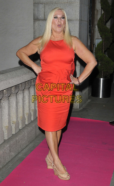 LONDON, ENGLAND - OCTOBER 02: Vanessa Feltz attends the Inspiration Awards For Women 2014, Cadogan Hall, Sloane Terrace, on Thursday October 02, 2014 in London, England, UK. <br /> CAP/CAN<br /> &copy;Can Nguyen/Capital Pictures