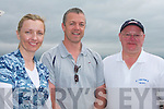 FUN: Enjoying the fun at the Tralee Bay Sailing Club Regatta on Sunday l-r: Mairia Fitzgerald, Oakpark, Paul Burke, Mounthawk and Gary Fort, Alderwood..   Copyright Kerry's Eye 2008