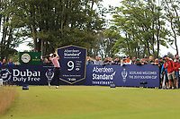 Justin Thomas (USA) on the 9th during Round 2 of the Aberdeen Standard Investments Scottish Open 2019 at The Renaissance Club, North Berwick, Scotland on Friday 12th July 2019.<br /> Picture:  Thos Caffrey / Golffile<br /> <br /> All photos usage must carry mandatory copyright credit (© Golffile | Thos Caffrey)