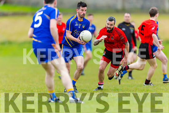 Ballymac's Padraig McCarthy at the Junior Premier Club Football Championship 2017 Round 1 Ballymac v Fossa at Ballymacelligott GAA Ground on Sunday