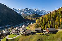Italy, South Tyrol (Trentino-Alto Adige), Val di Longiarù: mountain village Longiarù | Italien, Suedtirol (Trentino-Alto Adige), Dolomiten, Campilltal: Bergdorf Campill