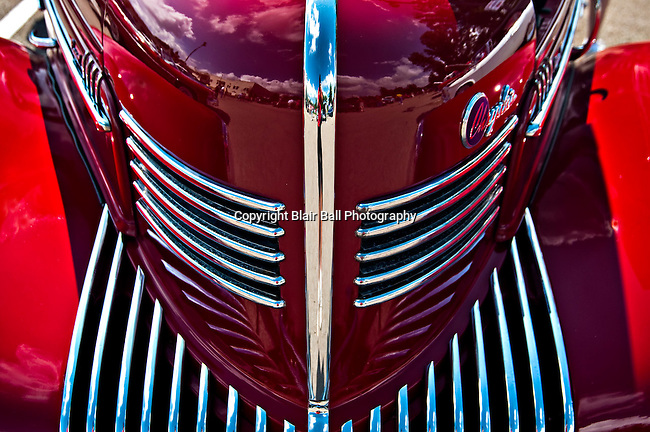 Grille of 1939 Royal Chrysler