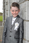 Ryan Griffin pictured on the day of his first holy communion.
