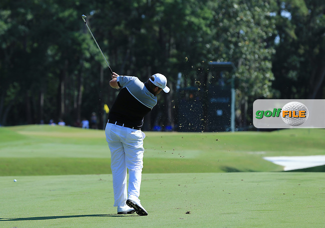 Shane Lowry (IRE) during the First Round of The Players, TPC Sawgrass,   Florida, USA. 12/05/2016.<br /> Picture: Golffile   Mark Davison<br /> <br /> <br /> All photo usage must carry mandatory copyright credit (&copy; Golffile   Mark Davison)
