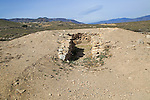 Burial chamber tomb mound, Los Millares prehistoric settlement, Almeria, Spain