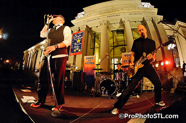 Vote For Pedro in Twilight Tuesdays concert at Missouri Historical Museum in St. Louis, MO on Oct 11, 2011.