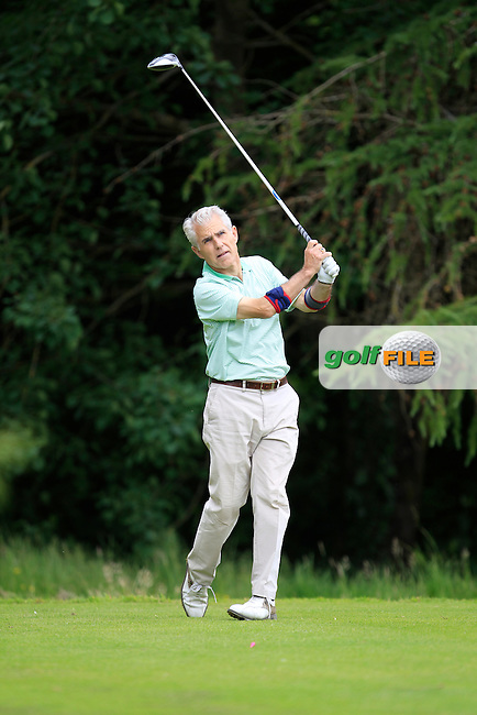 Liam Doran (Ardee) on the 8th tee during Round 1 of the Leinster Seniors Amateur Open Championship at Enniscorthy Golf Club on Tuesday 23rd June 2015.<br /> Picture:  Thos Caffrey / www.golffile.ie