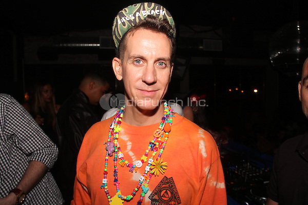 NEW YORK, NY - SEPTEMBER 10:Jeremy Scott at his after party at Space Ibiza September 10, 2014 in New York City. Credit: Walik Goshorn/MediaPunch
