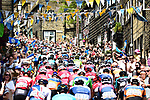The peleton in action during Stage 4 of the Tour de Yorkshire 2018 running 189.5km from Halifax to Leeds, England. 6th May 2018.<br /> Picture: ASO/Alex Broadway | Cyclefile<br /> <br /> <br /> All photos usage must carry mandatory copyright credit (&copy; Cyclefile | ASO/Alex Broadway)