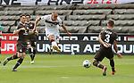 nph0001:  17.05.2020 --- Fussball --- Saison 2019 2020 --- 2. Fussball - Bundesliga --- 26. Spieltag: FC Sankt Pauli - 1. FC Nürnberg ---  DFL regulations prohibit any use of photographs as image sequences and/or quasi-video - Only for editorial use ! --- <br /> <br /> Michael Frey (14, 1. FC Nürnberg ) Leo Östigard Oestigard (3, FC St. Pauli ) <br /> Foto: Daniel Marr/Zink/Pool//via Kokenge/nordphoto