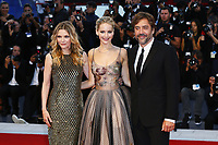 VENICE, ITALY - SEPTEMBER 05: Michelle Pfeiffer, Jennifer Lawrence and and Javier Bardem attend 'Mother' Red Carpet during 74th Venice Film Festival at Palazzo Del Cinema on September 5, 2017 in Venice, Italy. (Mark Cape/insidefoto)