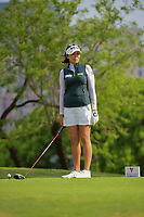 Mi Jung Hur (KOR) looks over her tee shot on 3 during round 3 of  the Volunteers of America Texas Shootout Presented by JTBC, at the Las Colinas Country Club in Irving, Texas, USA. 4/29/2017.<br /> Picture: Golffile | Ken Murray<br /> <br /> <br /> All photo usage must carry mandatory copyright credit (&copy; Golffile | Ken Murray)