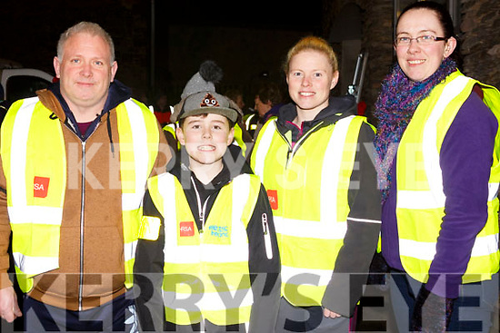 Attending the SuperValu Rock St Operation Transformation on Thursday evening last, l to r, Trish O'Brien, Sandra Lynch, Deirdre Walsh and Olivia Crean.