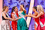 Limerick Rose, Sinéad Flanagan reacts as she is announced as the 2019 Rose of Tralee at the Rose selection at the Dome on Tuesday evening.